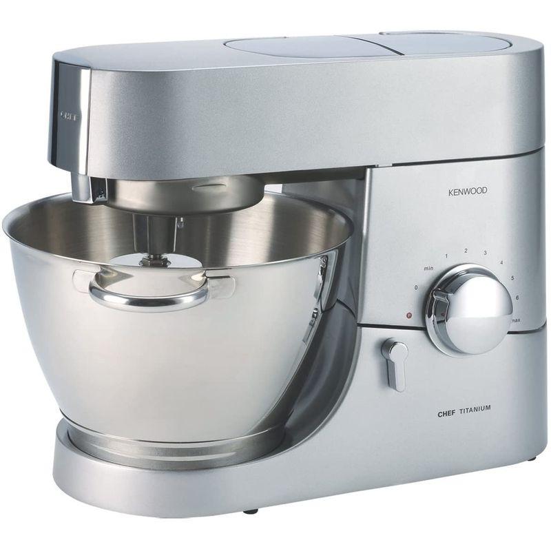 スタンドミキサー 4.7L ステンレス ケンウッド シェフ Kenwood KMC011 5 Quart Chef Titanium Kitchen Machine, Stainless Steel 家電