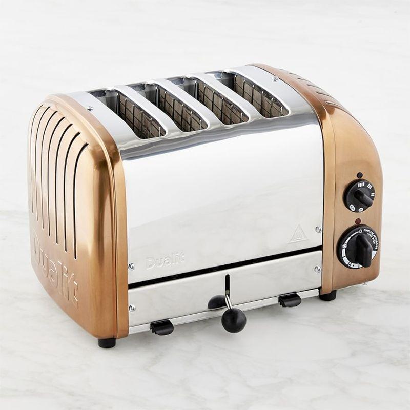 トースター 4枚焼 クラシック デュアリット イギリス製 Dualit New Generation Classic 4-Slice Toaster 家電