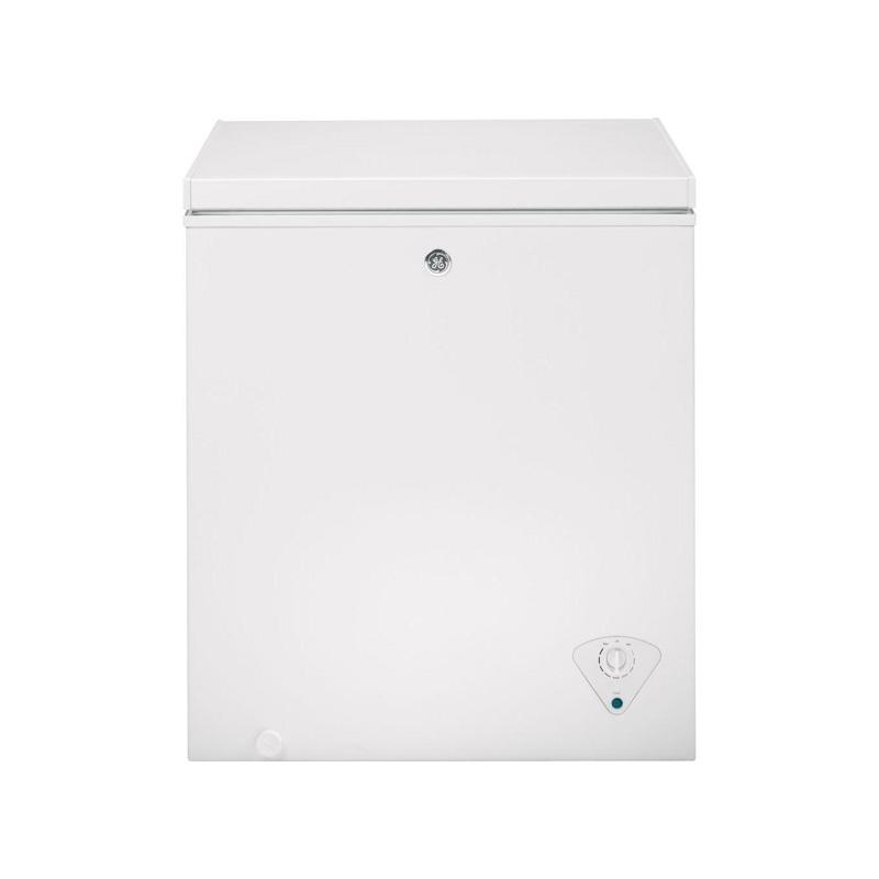 大人気定番商品 冷凍庫 上開き 142L GE Garage Ready 5.0 cu. ft. Manual Defrost Chest Freezer in White FCM5SKWW 家電, モモヤマチョウ 9eb732c1