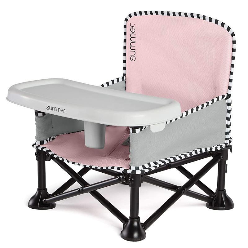 送料無料 子供用 折り畳みイス Summer Pop 'n Sit SE Booster Chair Sweet 買物 Life Edition Bubble Use Seat for Outdoor Fast Gum Compact and 公式 ? Fold Easy Indoor Color
