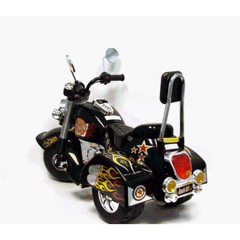 乗用玩具 電動バイク 6Vバッテリー付 3輪 チョッパー ブラック  3 Wheel Chopper Trike Motorcycle for Kids, Battery Powered Ride On Toy by Lil' Rider