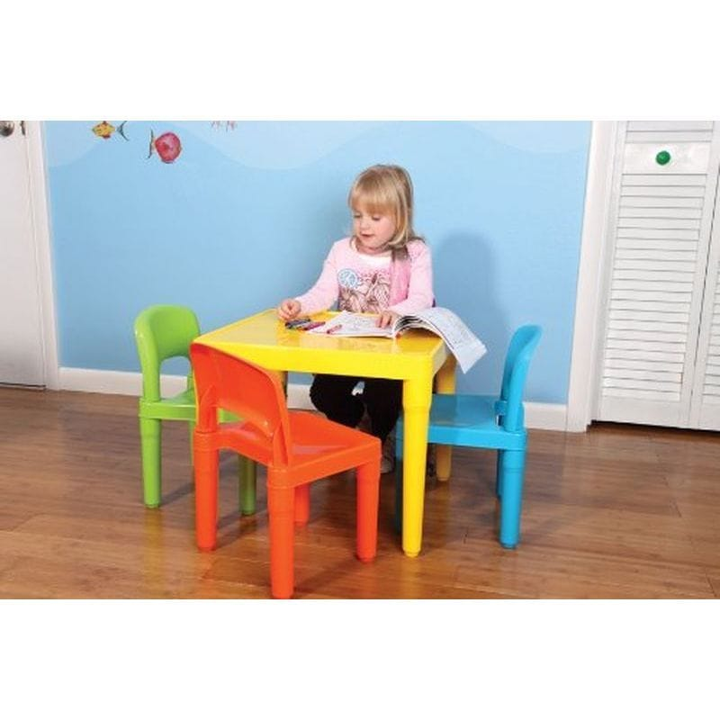 Table chair four points set Tot Tutors Kids\u0027 Table and 4 Chair Set Plastic TC911 for the トットチュータース child  sc 1 st  Rakuten & Alphaespace USA | Rakuten Global Market: Table chair four points set ...