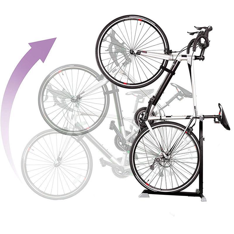 30日間返金保証 送料無料 自転車 営業 スタンド 縦置き ラック バイク Bike Nook Bicycle Stand Indoor Rack Portable Storage for Adjustable and with SEAL限定商品 Height Stationary Space-Saving