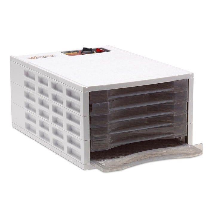 ローフード 食品乾燥機 5トレイ ドライフルーツメーカー 白 ホワイトWeston Dehydrator Williams-Sonoma 家電