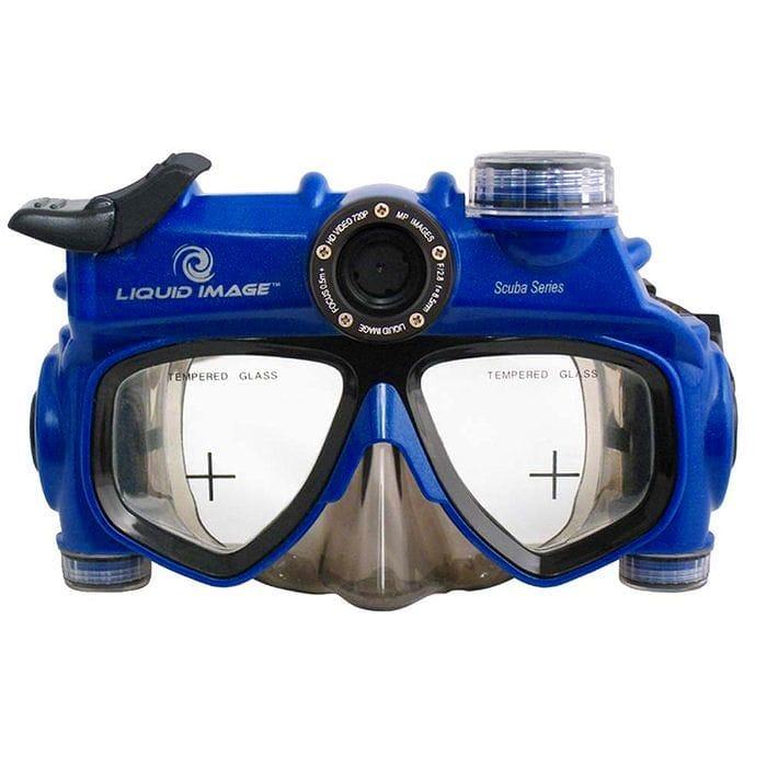 【30日間返金保証】【送料無料】 リキッドイメージ スキューバ デジタルビデオカメラマスク ミッドサイズ Liquid Image 318 - 12.0 MP HD 720p Camera Mask Mid Size