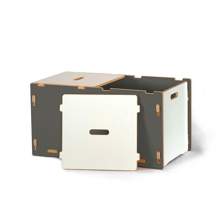 子供用おもちゃ箱 トイボックス キッズオーガナイザー ストレージ スプラウト グレイ Toy Box Sprout