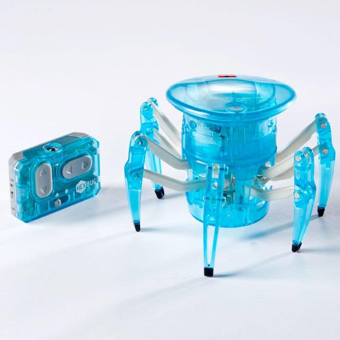 ヘックスバグ スパイダー ライトブルー Hexbug Spider Teal