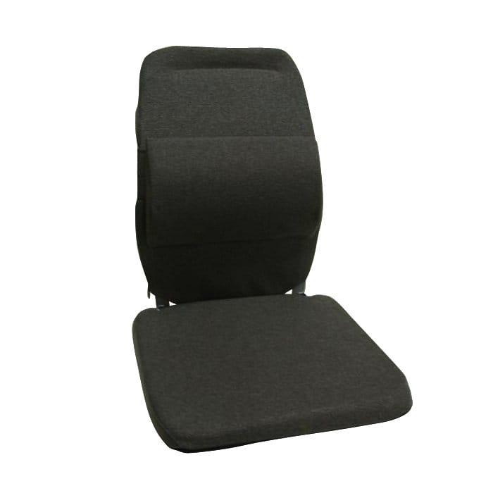 サクロ イース バック アンド 腰 サポート 車用 エクストラ パッディング ブラック Sacro-Ease Back and Lumbar Support Car Cushion with Extra Padding Black