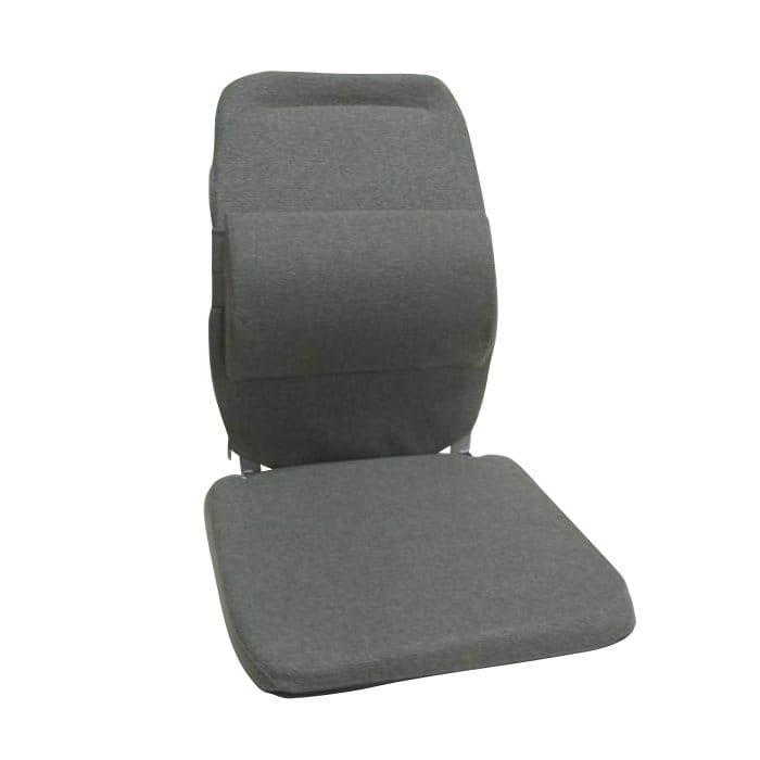 サクロ イース バック アンド 腰 サポート 車用 エクストラ パッディング チャコール Sacro-Ease Back and Lumbar Support Car Cushion with Extra Padding Charcoal