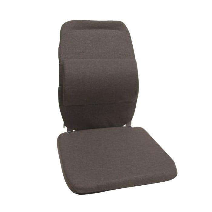 サクロ イース バック アンド 腰 サポート 車用 エクストラ パッディング ブラウン Sacro-Ease Back and Lumbar Support Car Cushion with Extra Padding Brown