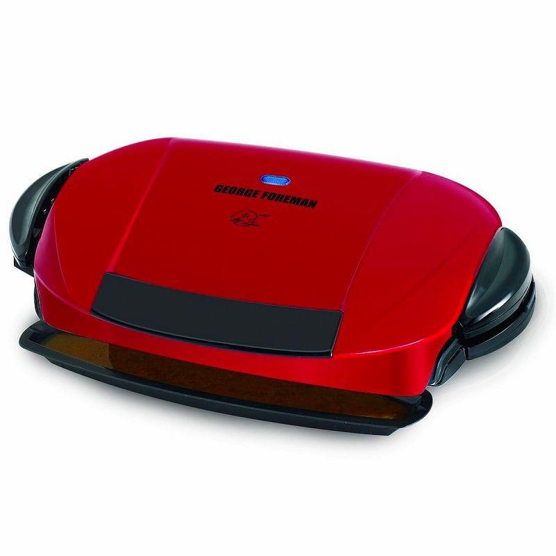 ジョージフォアマン 電気グリル ホットプレートGeorge Foreman GRP0004R The Next Grilleration Grill Red