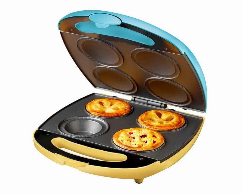 ノスタルジア パイメーカー 4枚焼きNostalgia Electrics Pie-400 4-Pie Electric Pie Bakery 家電