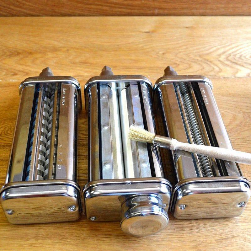 キッチンエイド パスタローラー&カッター 3点セット フェットチーネ リングイーネ スタンドミキサー用 アタッチメント KitchenAid Stand Mixer Pasta Roller Attachment KPRA