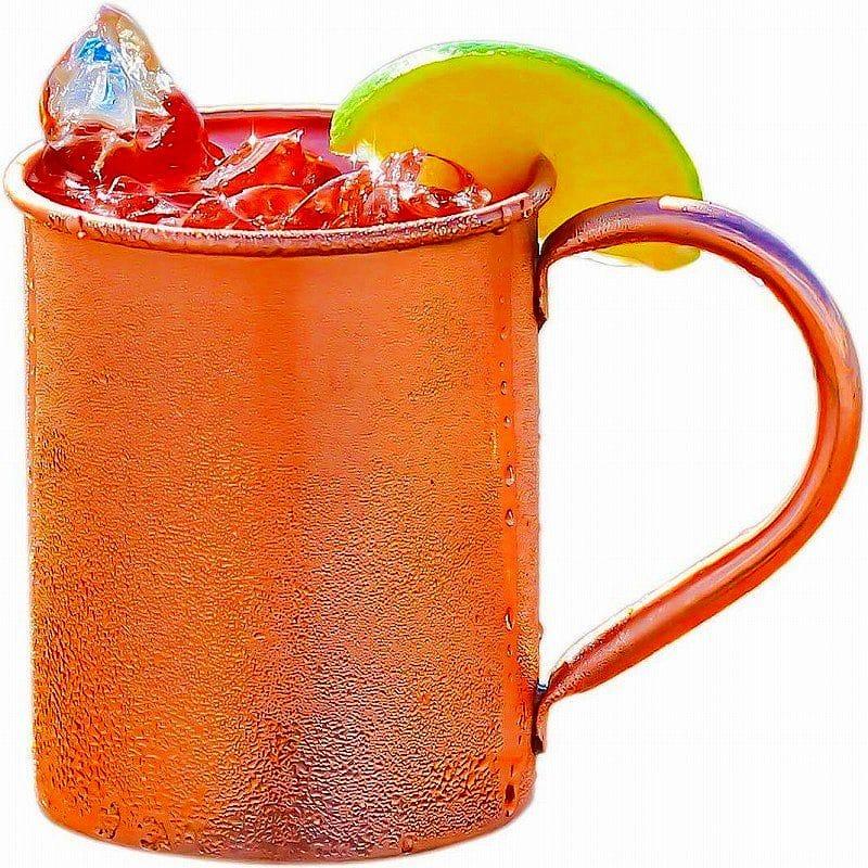 ピュアコッパ― モスコミュール 銅 Moscow マグ 約470ml 16oz 100% Copper Mug Pure for Moscow Mule - Solid Pure Copper 16oz, スポーツLAB:728be969 --- mail.ciencianet.com.ar
