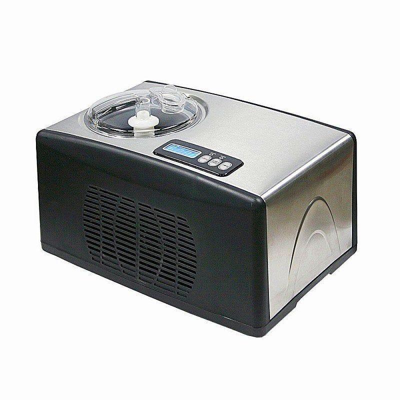 【30日間返金保証】【送料無料】 アイスクリームメーカー コンプレッサー内蔵型 1.5L ウィンター ステンレス Whynter ICM-15LS Ice Cream Maker, Stainless Steel 家電