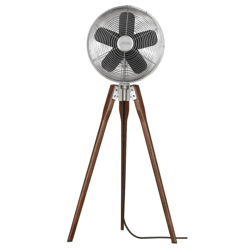 ファニメーション 3脚 ファン 扇風機 オイル ラビング ブロンズ FP8014SNFanimation FP8014SN Arden Pedestal Fan Ceiling Fan, Satin Nickel 家電