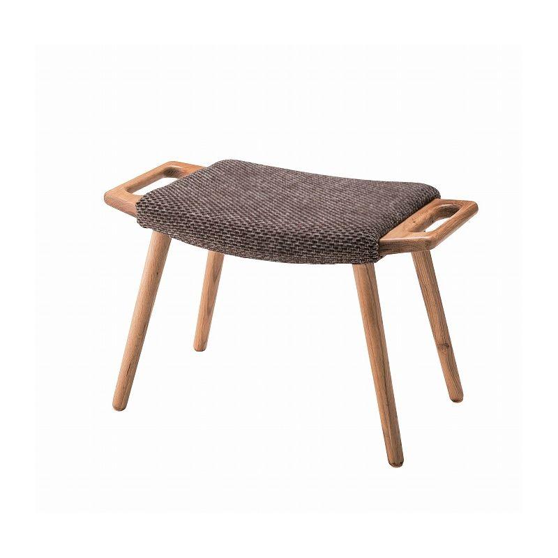 フリック スツール いす 玄関 高さ40cm 持ち手付 おしゃれ 椅子