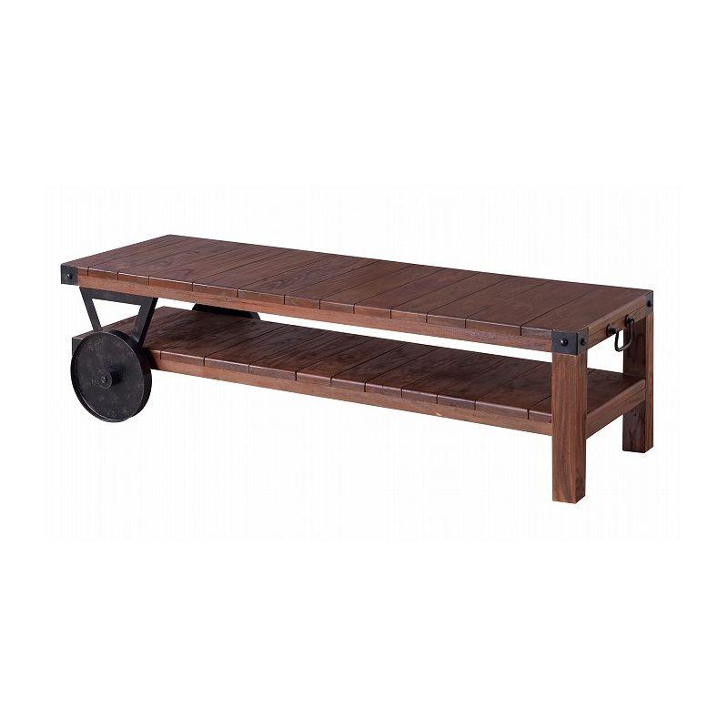 ローボード 幅120cm 天然木 テレビボード TVボード AVボード テレビ台
