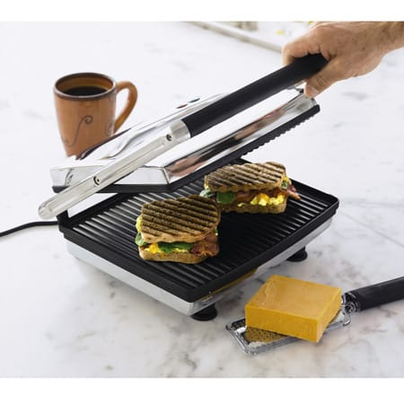Craps パニーニメーカー & Grill press maker Krups FDE312-75 Grill and Panini Maker Grill manufacturers, hot plates, sandwich maker, you carvery