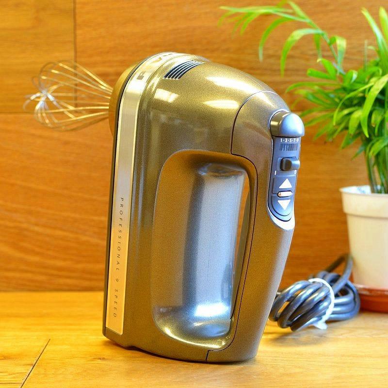 キッチンエイド ハンドミキサー 9スピード 9段階 ウイリアムズ ソノマ限定モデルKitchenAid 9-Speed Hand Mixer 家電