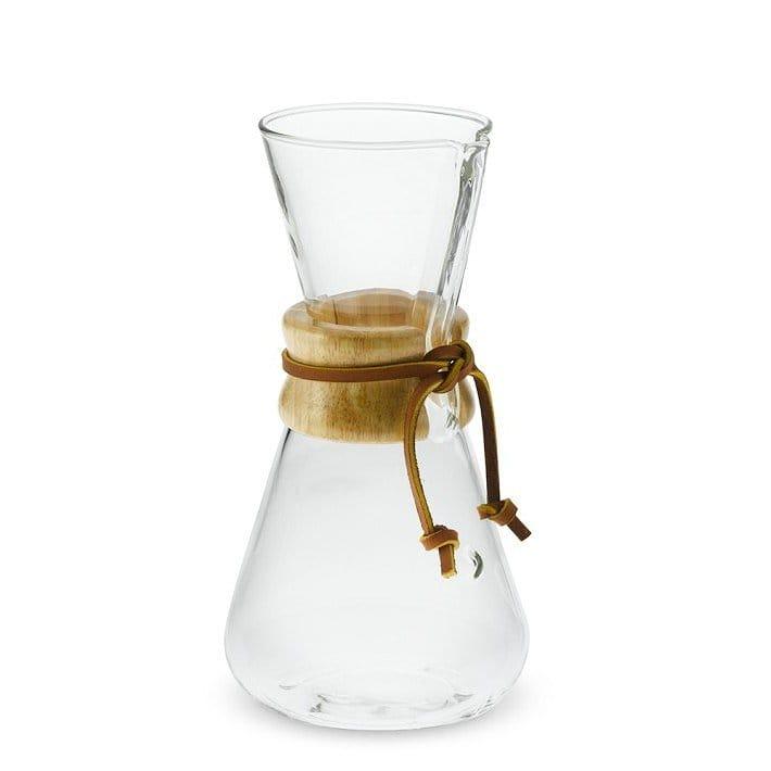 ケメックス ガラス×ウッド 木 コーヒーメーカーChemex Wood Collar Glass Coffee Maker