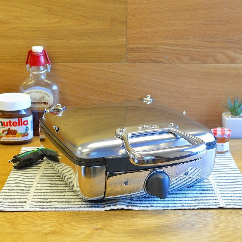 オールクラッド ウイリアムズ・ソノマ ワッフルメーカー 4枚焼 Williams-Sonoma All-Clad Waffler