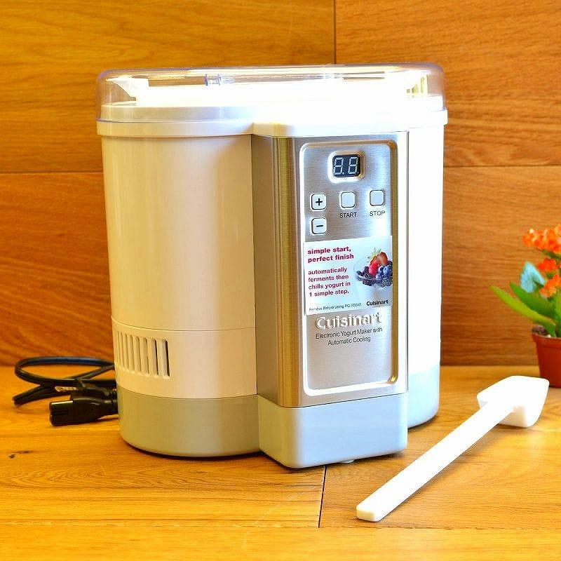 クイジナート ヨーグルトメーカーCuisinart Electric Yogurt Maker CYM-100 with Automatic Cooling 家電