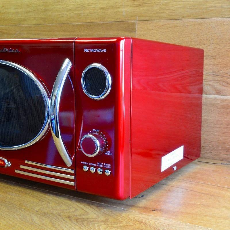 Alphaespace Nostalgia Retro Refrigerator Red Red