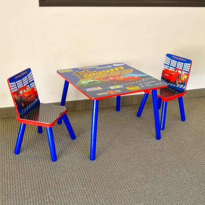 ディズニー カーズ 子供用 机 デスク テーブル 椅子セット TT89189CR Delta Disney Cars Square Table and Chair Set