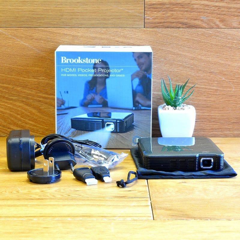 ポータブル ポケットプロジェクター1080p HDMI Pocket Projector
