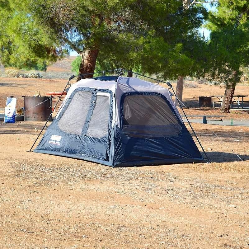 コールマン4人用 インスタントテント 組立3分片づけ5分Coleman 4-Person Instant Tent 2000010387