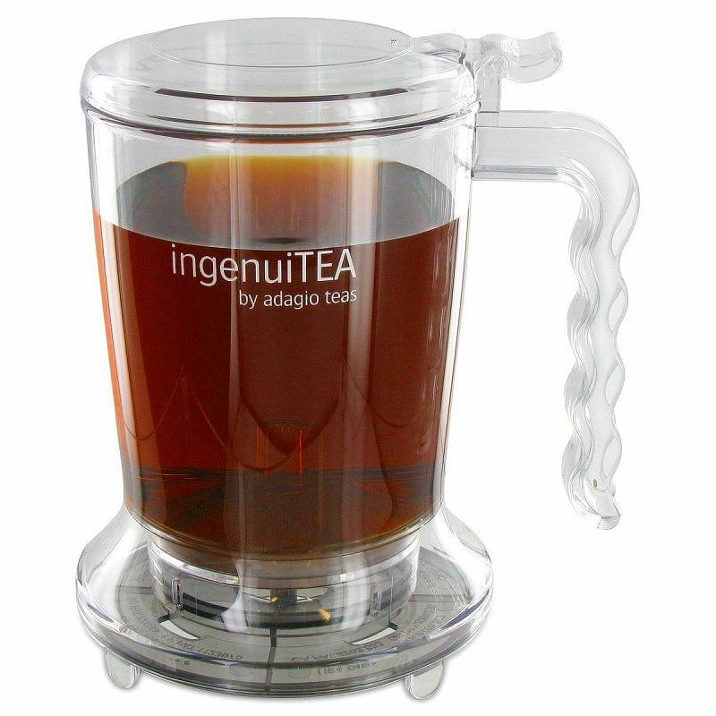 【30日間返金保証】【送料無料】 アダージョ ティーポット 紅茶 緑茶 473ml Adagio Teas Ingenuitea Teapot, 16oz