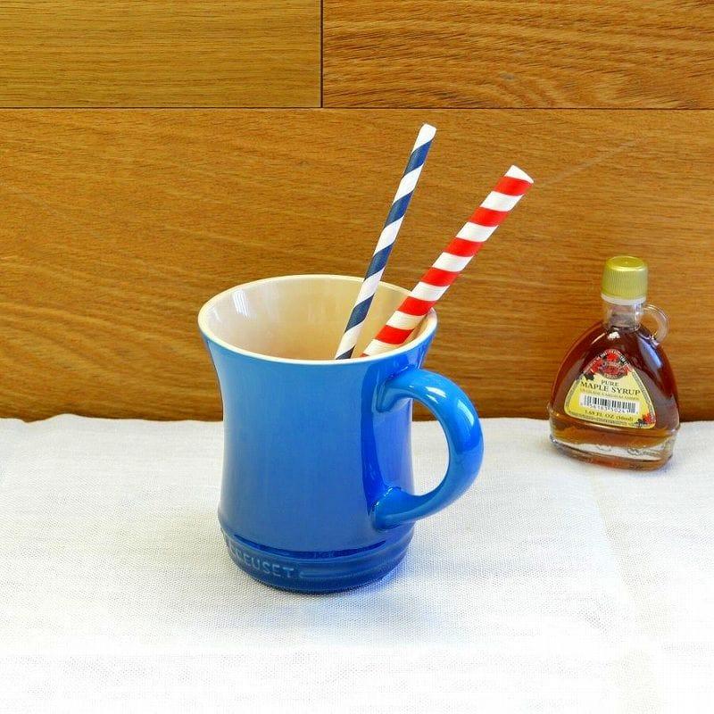 ル・クルーゼ マグカップ 420ml 2個セット Lサイズ マルセイユ Le Creuset Stoneware Tea Mug Marseille ルクルゼ ルクルーゼ コップ カップ