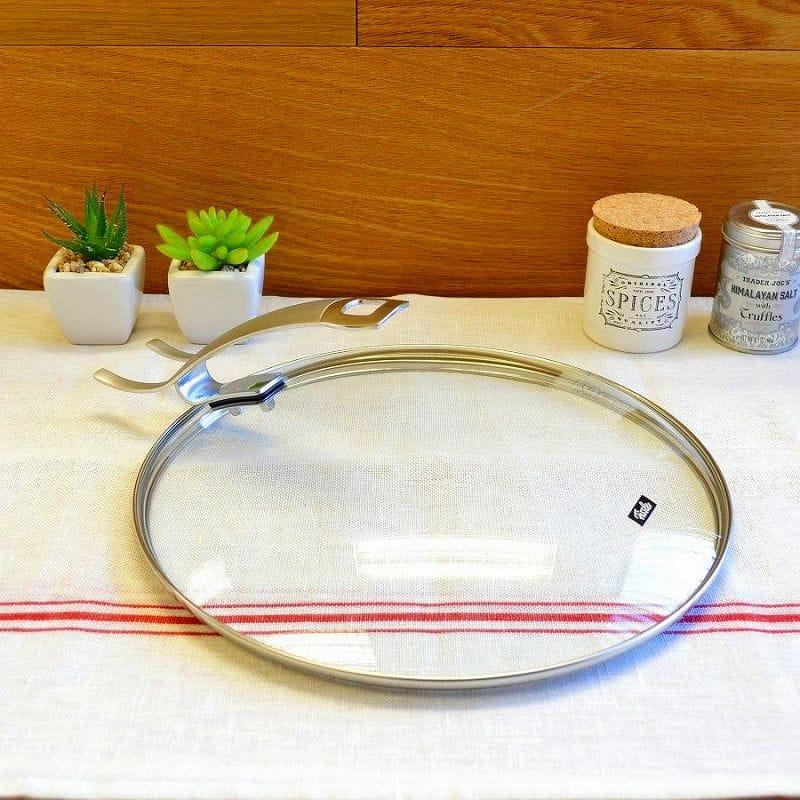 30日間返金保証 フィスラー プレミアム ガラス蓋 直径28cm Fissler Steelux Premium Lid 000 11.0-Inch 200 NEW 新商品 28 Glass 185