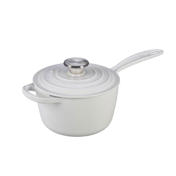 ルクルーゼ ソースパン 片手鍋 1.6L マットコレクション3色 Le Creuset Signature 1 3/4 qt. Saucepan