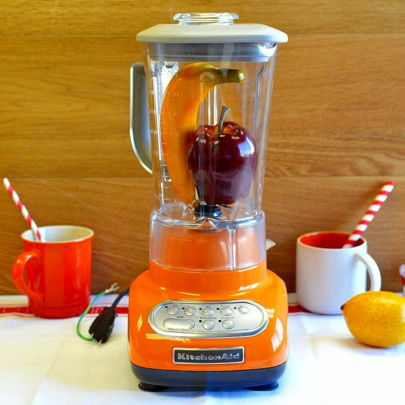 Kitchenaid Blender Orange Ksb560tg With Polycarbonate Jar Tangerine