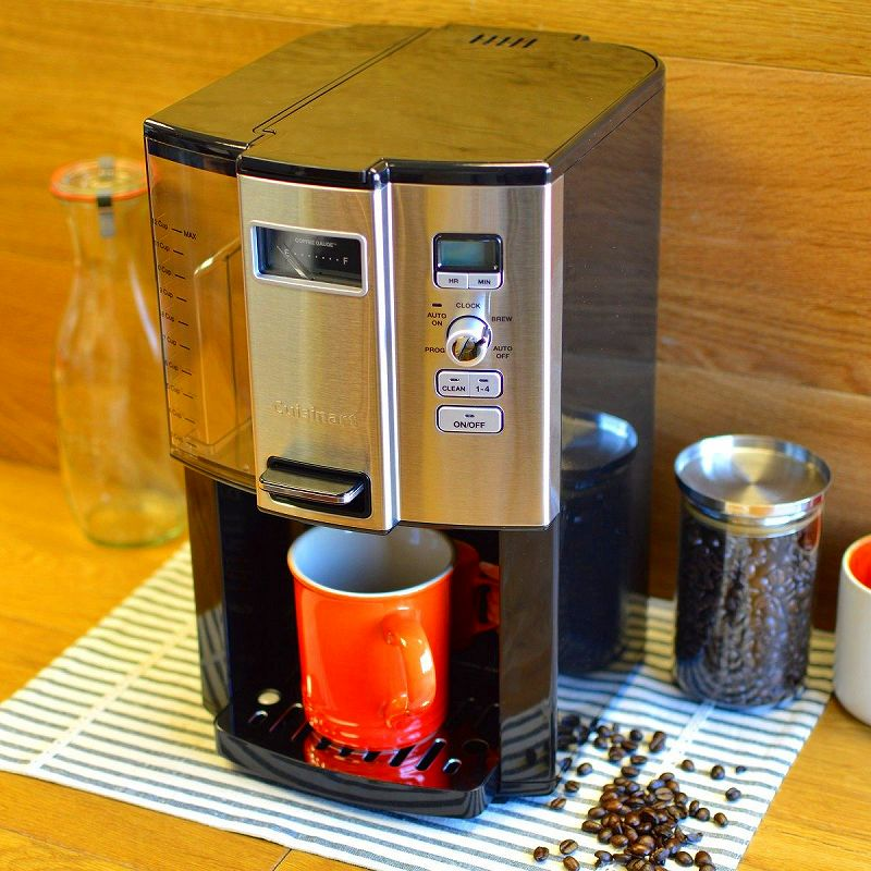 【訳あり】クイジナート コーヒーメーカー 12カップ Cuisinart Coffee on Demand 12-Cup Programmable Coffeemaker DCC-3000 家電