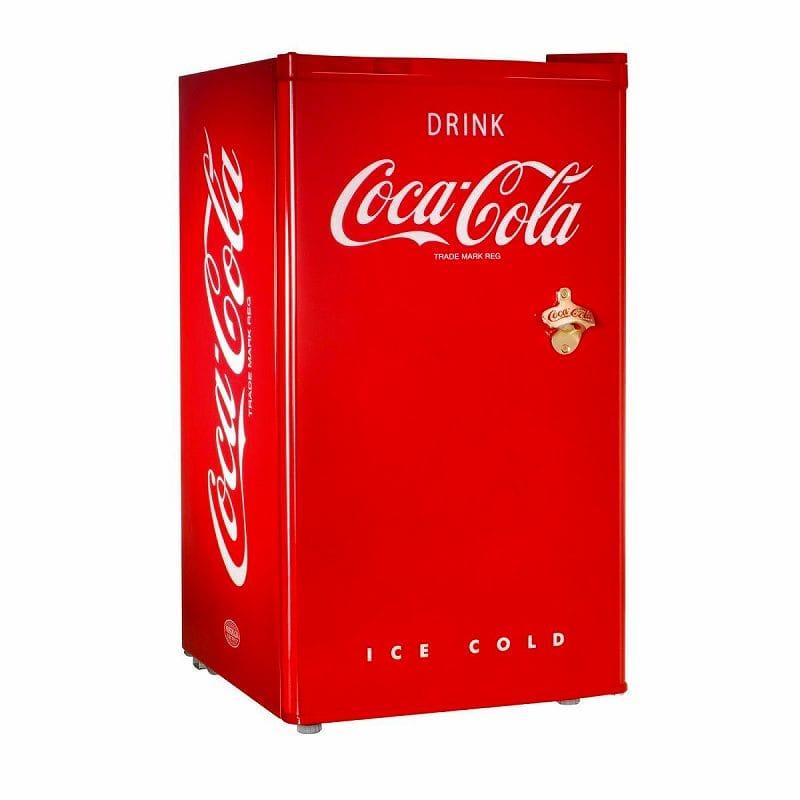 コカ・コーラ ノスタルジア レトロ 栓抜き付 冷凍冷蔵庫 栓抜き付 西海岸 Coca-Cola カリフォルニア Nostalgia Nostalgia RRF300SDBCOKE Coca-Cola Compact Refrigerator 家電【代引不可】, マエサワチョウ:730f3c76 --- sunward.msk.ru