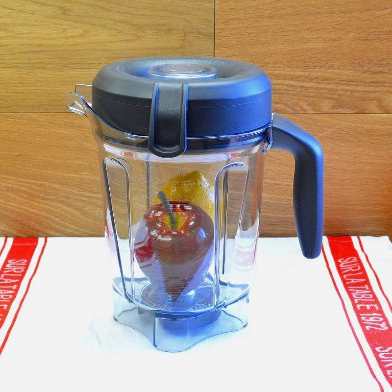 Vita-mix PRO750用 バイタミックス 300 750 780 に適合 2.0L 液体用ウエットコンテナ ジャー 容器 フタ付 Vitamix Tritan Copolyester Soft-Grip 64-Ounce Container with Wet Blade and Lid