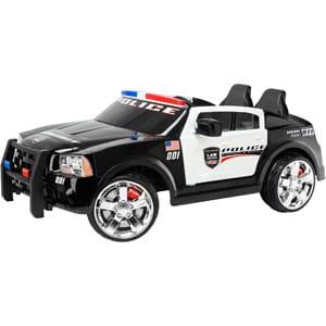 【組立要】キッドトラックス パトカー 電動自動車 12ボルト バッテリー付 対象年齢3~7才 電気自動車 電動カー Kid Trax Dodge Pursuit Police Car 12-Volt Battery-Powered Ride-On