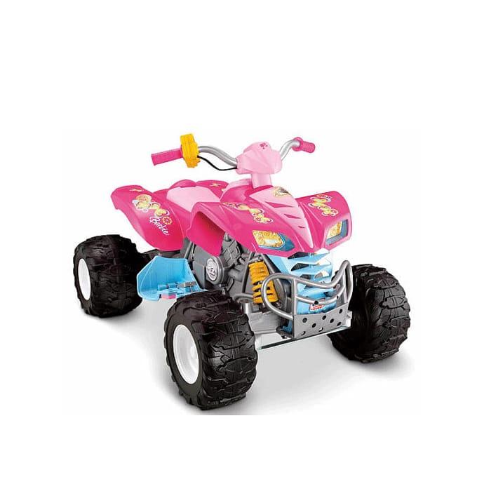 【組立要】フィッシャープライス パワーホイール バービーKFX 電動自動車 12Vバッテリー付 電気自動車Fisher-Price Power Wheels Barbie KFX 12-Volt Battery-Powered Ride-On
