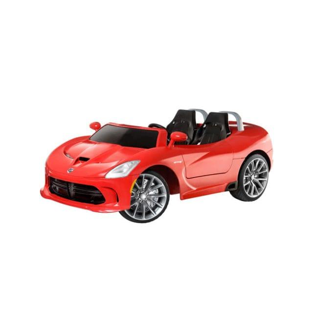 【組立要】キッドトラックス SRTバイパー 電動自動車 12Vバッテリー付 電気自動車 電動カー Kid Trax SRT Viper 16-Volt Battery-Powered Ride-On