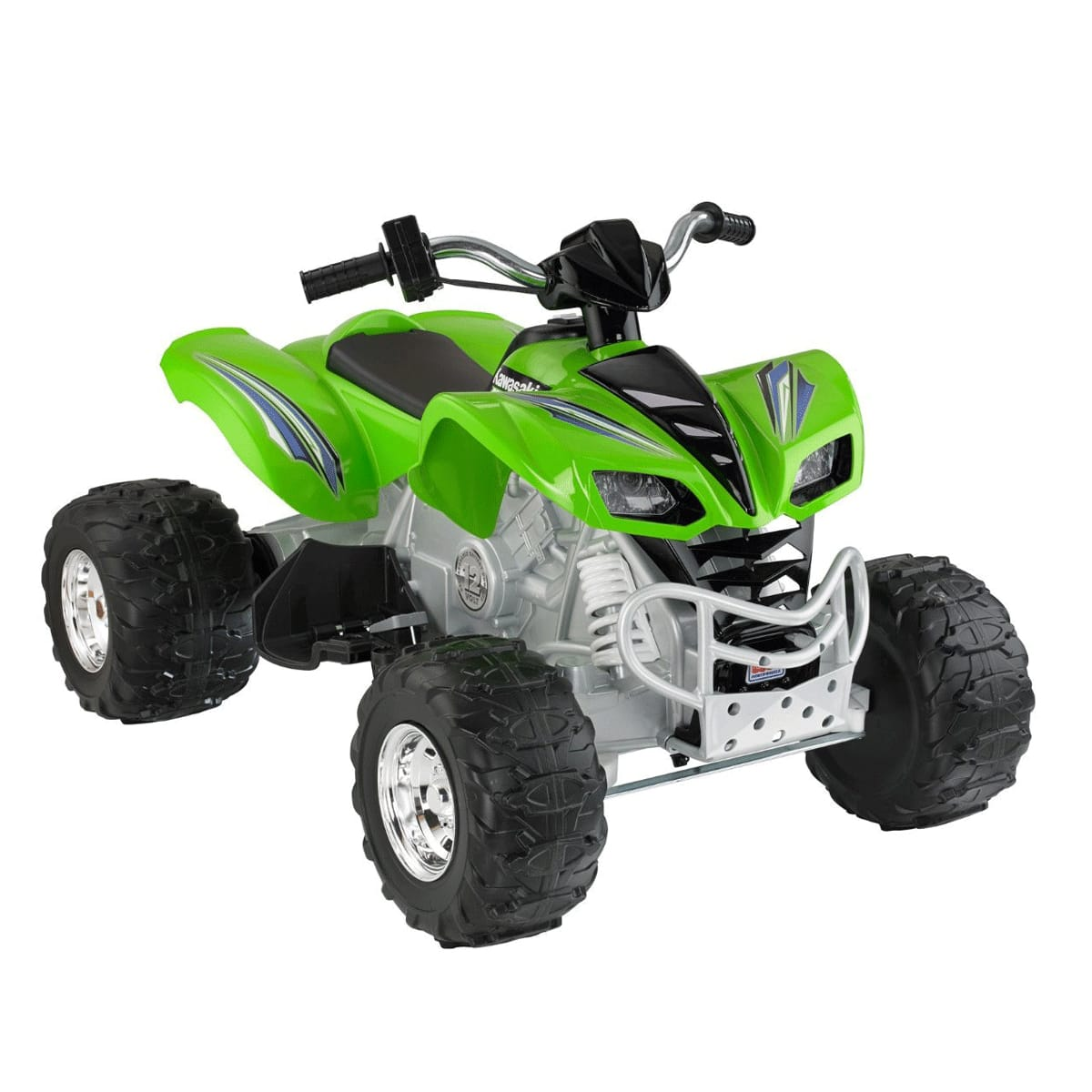 12Vバッテリー付 電動自動車 12-Volt Kawasaki Power KFX 【組立要】フィッシャープライス パワーホイール Wheels カワサキKFX Ride-On 電動カー 電気自動車 Battery-Powered Fisher-Price