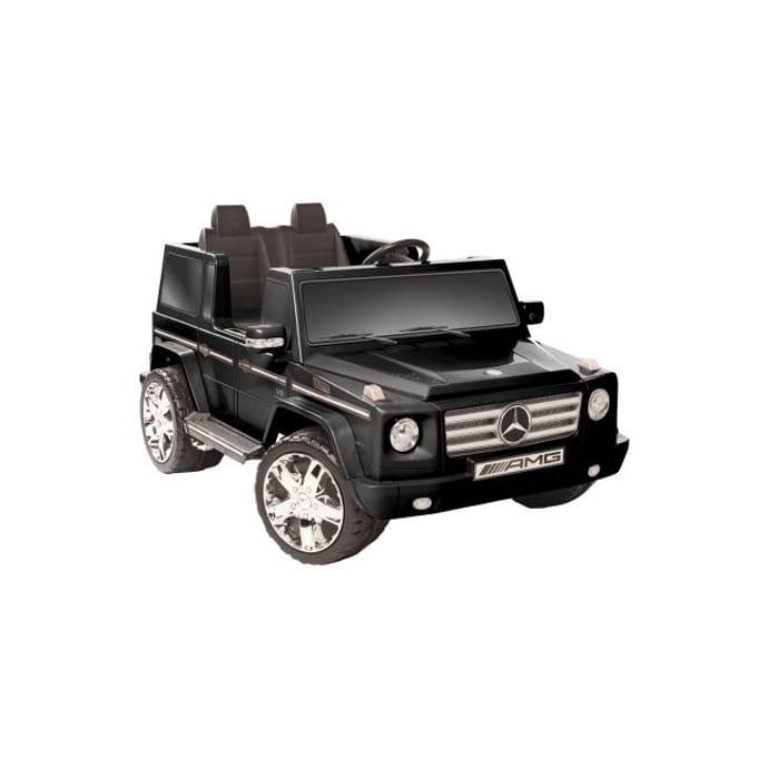 【組立要】メルセデスベンツ G-55 電動自動車 12Vバッテリー付 対象年齢3~6才 電気自動車Kidz Motorz Mercedes G55 in Black