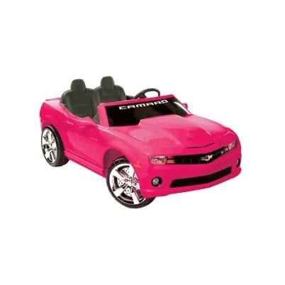 【組立要】キッドモーターズ シボレーカマロ ピンク 電動自動車 12Vバッテリー付 電気自動車 電動カー Kid Motorz Chevrolet Camaro 12-Volt Battery-Powered Ride-On, Pink
