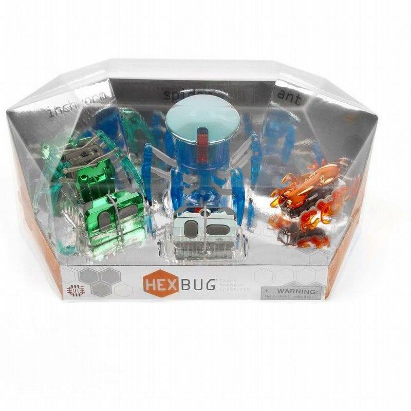 ヘックスバグ 3点セット (色の選択はできません )Hexbug Chrome Tri Pack