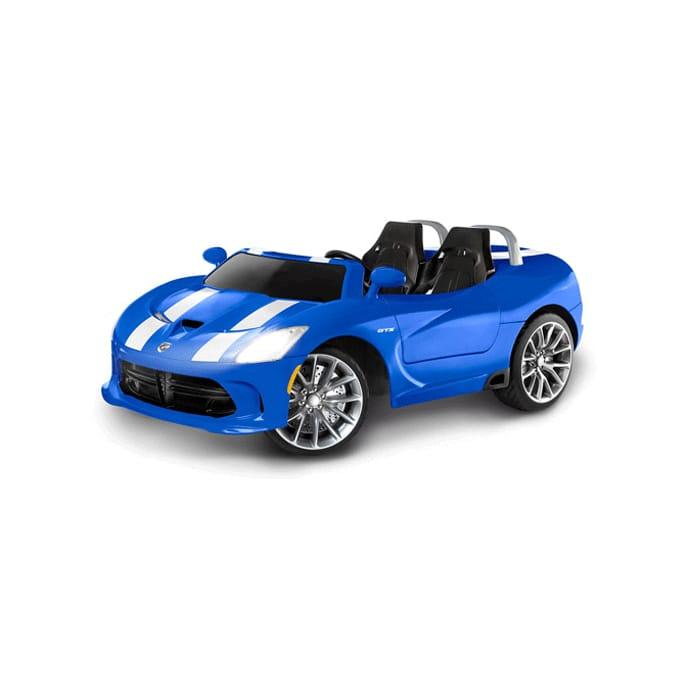 電動カー Cycle Blue Ride-On, 電動自動車 SRTバイパー 【組立要】パシフィックサイクル Kid 12Vバッテリー付 12-Volt Viper SRT 電気自動車 Pacific Battery-Powered キッドトラックス Trax