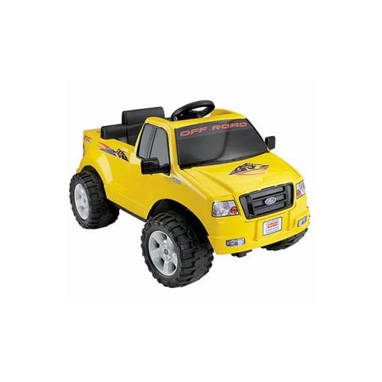 フィッシャープライスリル・フォードF-150 電動自動車 6Vバッテリー付 対象年齢2~7才 電気自動車 Fisher-Price Power Wheels Lil' Ford F-150 6-Volt Battery-Powered Ride-On, Yellow