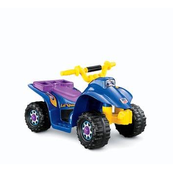 フィッシャープライス リル・クワッド 青 電動自動車 6Vバッテリー付 対象年齢2~6才 電気自動車 電動カー Fisher-Price Power Wheels Lil' Quad 6-Volt Battery-Powered Ride-On