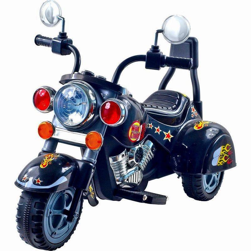 ロックンローラーズ ロードウォリアー3輪 電動オートバイ 6Vバッテリー付Rockin' Rollers Road Warrior 3-Wheel Motorcycle 6-Volt Battery-Powered Ride-On